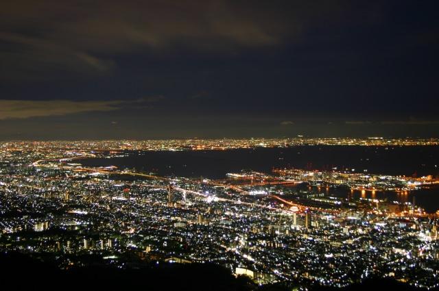 2. 俯瞰神戶千萬夜景「六甲山」