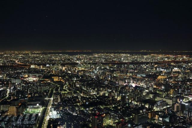 1. 晴空塔的裡絕對得去探訪的展望台,從展望台暸望東京的景色