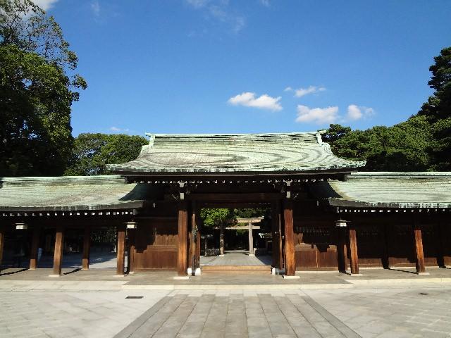 1. 集結日本歷史的代表觀光景點「明治神宮」