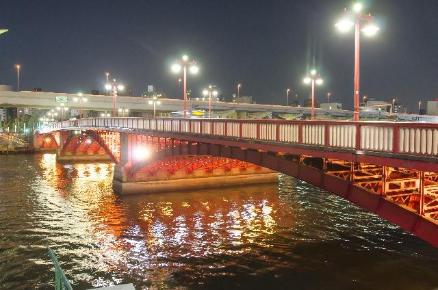 7. 來這邊遊玩作為淺草觀光完美的句點!景色絕佳的「吾妻橋」