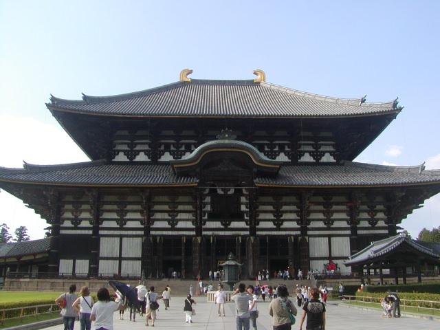 3. 東大寺最值得一見的地方「大佛殿」
