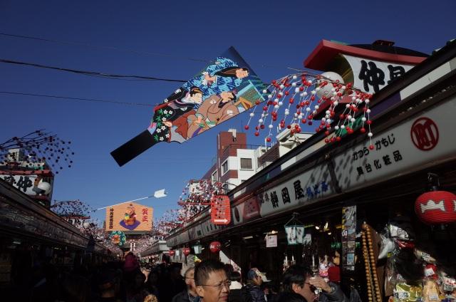 2. 感受眾多江戶情懷擁有超多伴手禮商品的仲見世商店街