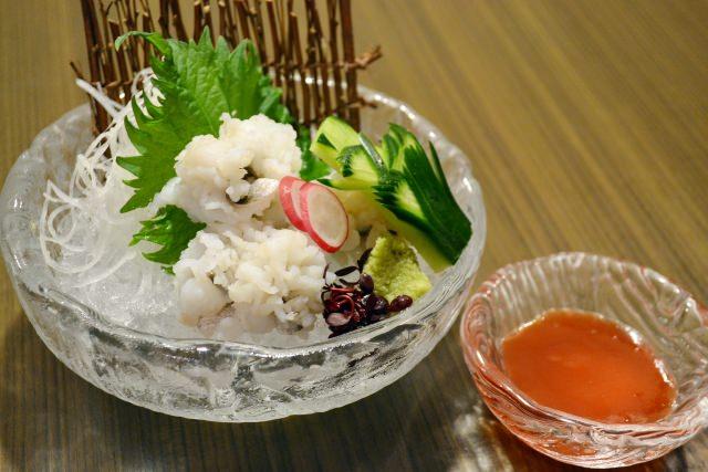 是因為是夏天所以才好吃,京都的海鰻!