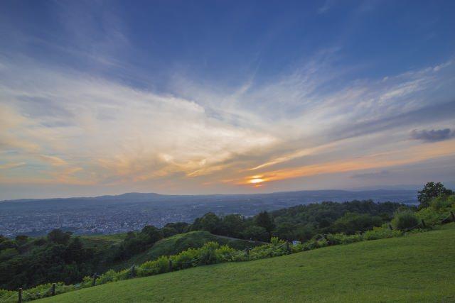 4. 從山頂看以看到絕美的景色「若草山」