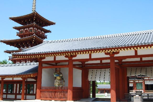 3. 作為世界遺產而聞名的「薬師寺」