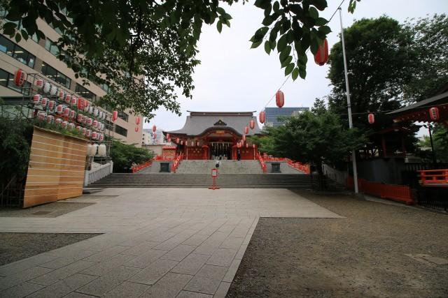 4. 定期舉行不同活動的「花園神社」