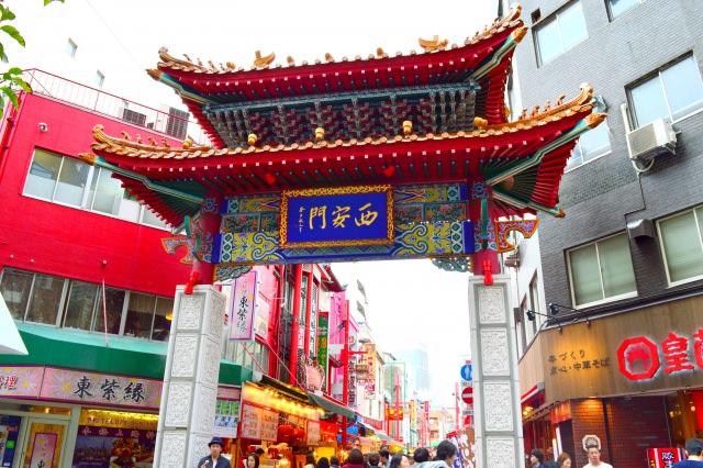 2. 集結100家以上的店鋪,關西第一的中華街「南京町」