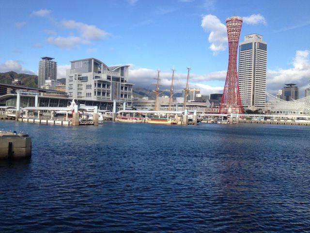 6. 能稱為神戶象徵的人氣名所「神戶港塔 美利堅公園周邊」