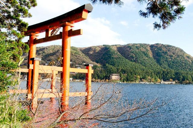 5. 神奈川縣中少有出名的能量景點!「箱根神社」