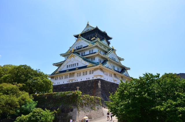 2. 大阪中具有歷史性的觀光景點「大阪城」