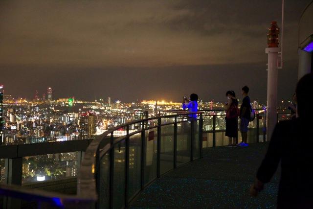 3. 可以把大阪的街道一覽無遺「SKY BUILDING展望台」