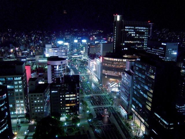 1. 能免費看到夜景的景點「神戶市役所1號館24樓展望大廳」