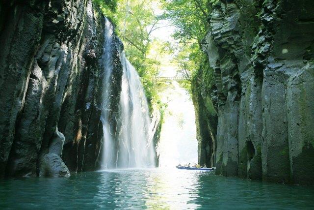 1. 宮崎自傲的溪谷,美麗的景色掠奪人心「高千穂峡」