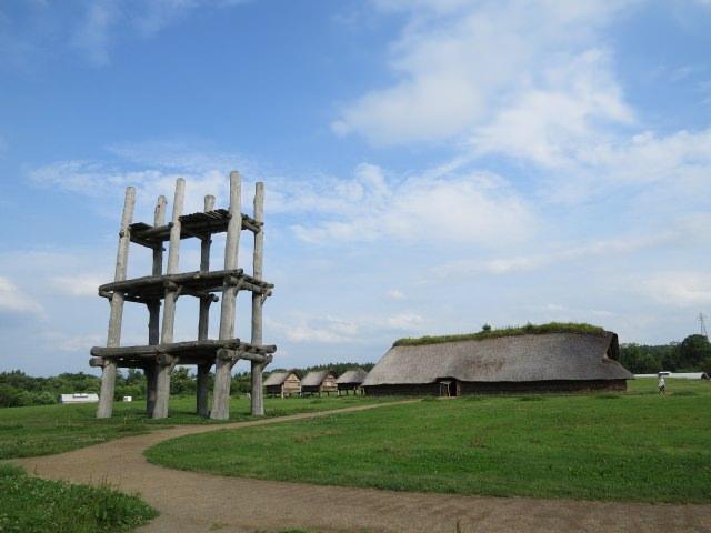 1. 能看到繩文時代的遺跡「三內丸山遺跡」