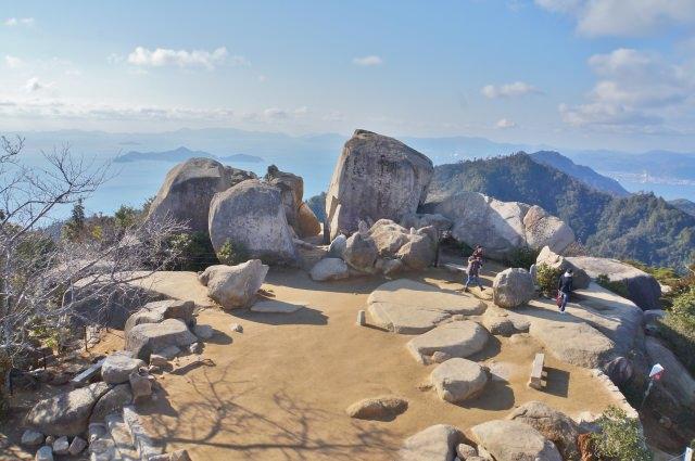 2. 自然原貌完好無缺,廣島自然資源豐富的旅遊景點「彌山」
