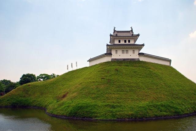 1. 大自然和城跡的美景。在栃木必看的觀光景點「宇都宮城跡」