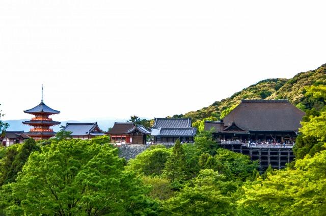 4. 京都觀光的基本!關西特別有人氣的觀光地「清水寺」