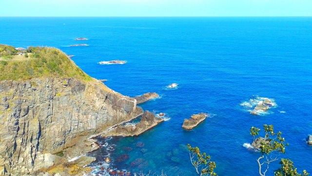 2. 高知縣人氣觀光景點!從展望台眺望的美景值得你一看的「足摺岬」!