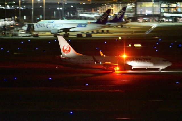 5. 在東京的玄關欣賞美麗的夜景「羽田機場」