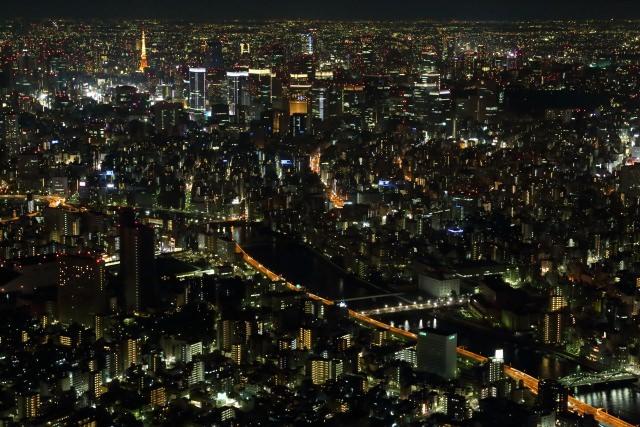 4. 無人不知無人不曉的東京夜景景點「東京晴空塔」