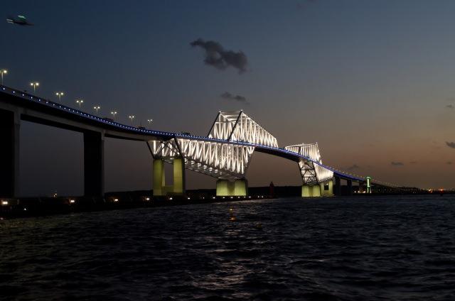 9. 說到東京的夜景的話「東京京門大橋」