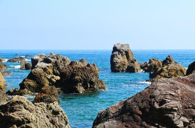 1. 片片浪花拍打著全身!高知縣知名觀光景點「室戶岬」