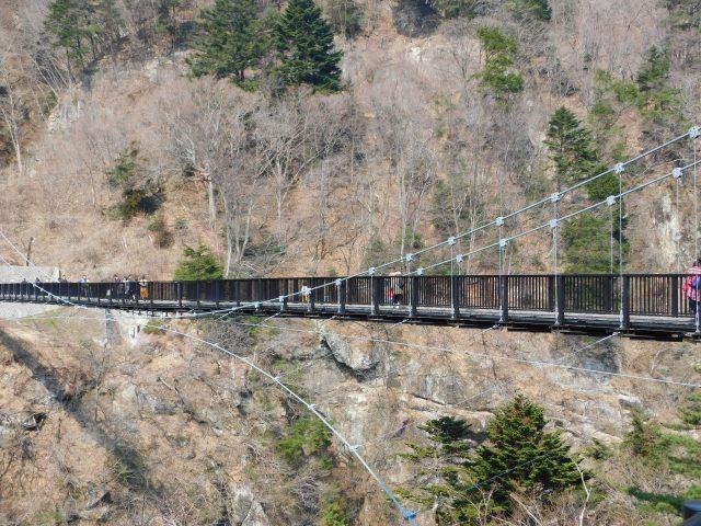 3. 能眺望美麗自然的景點!「鬼怒楯岩大吊橋」
