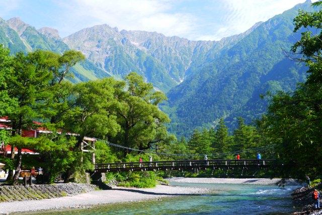 8. 說到長野縣上高地的地標就是這!「河童橋」