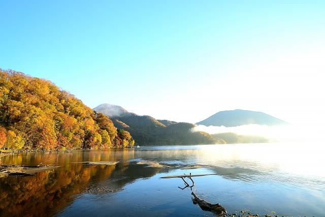 6. 在幽美湖畔的小憩片刻。在栃木縣悠閒渡過的觀光景點「中禪寺湖」