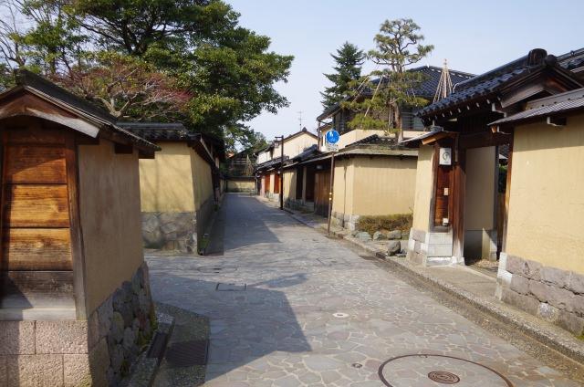 7. 可以感受到人們氣息的金澤觀光景點「長町武家房屋遺址」