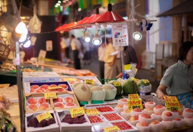 2. 金澤的大廚房。追求美味美食「近江町市場」