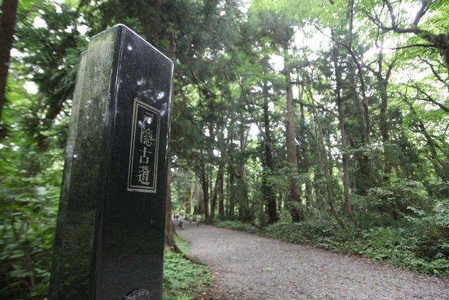 9. 可以邊散步邊感受自然風情和悠久歷史的「戶隱神社」