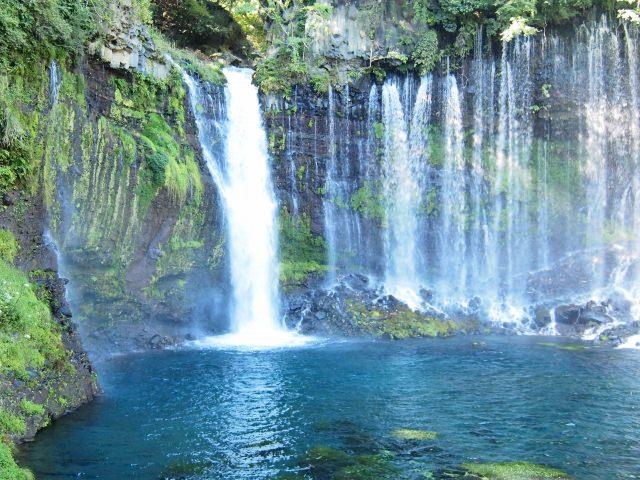 3. 深深魅惑你心的長野旅遊名勝。「白絲瀑布」