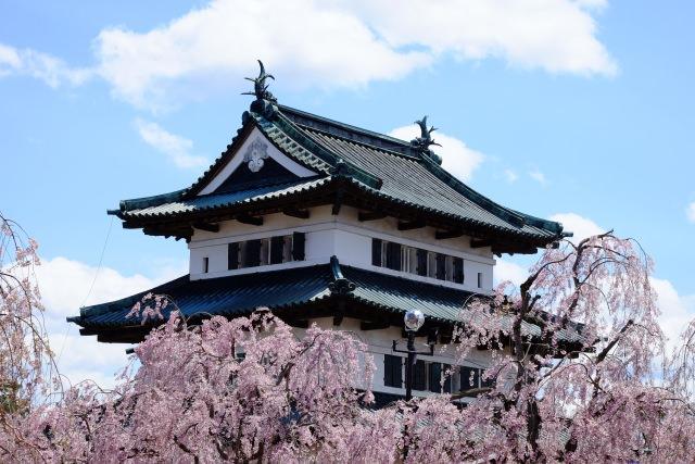 1. 【青森縣】以賞櫻勝地聞名的東北觀光景點「弘前城&弘前公園」