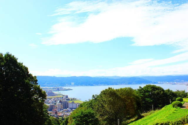 2. 在長野縣的美麗湖泊。一生一定要去一次的旅遊景點「諏訪湖」