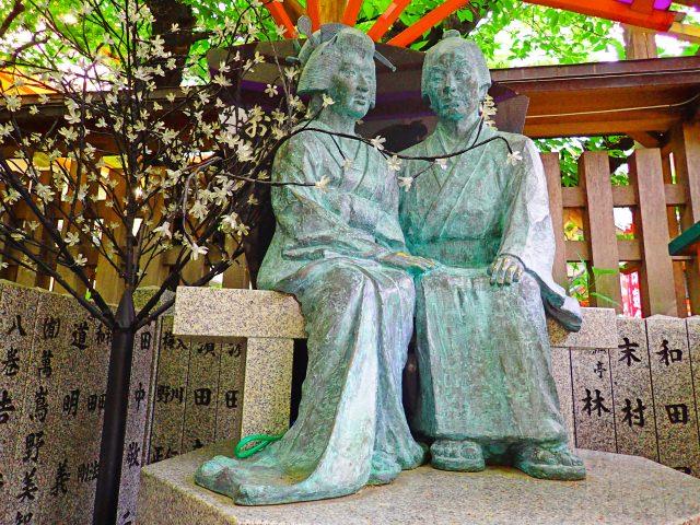 1. 大阪梅田能讓身心休息的觀光景點!「露天神社」