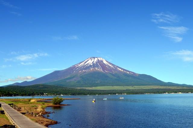 9. 富士五湖之一,山梨的代表觀光景點!「山中湖」