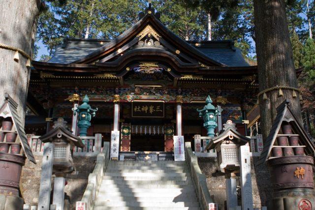 4. 關東內首屈一指的能量景點「三峰神社」