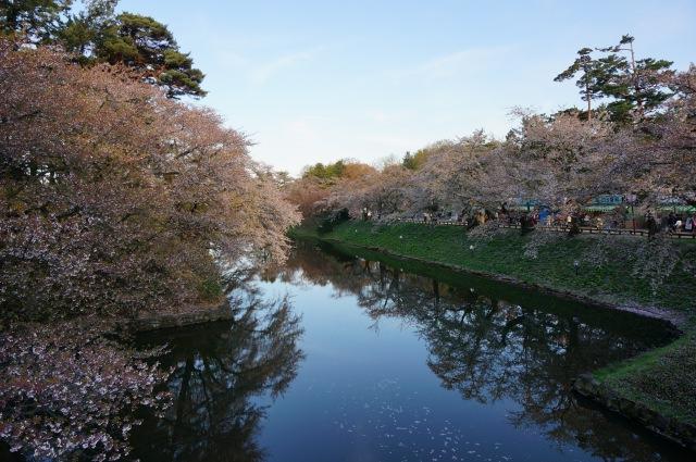 2. 配合著弘前城一同前往。人氣的觀光景點「弘前公園」