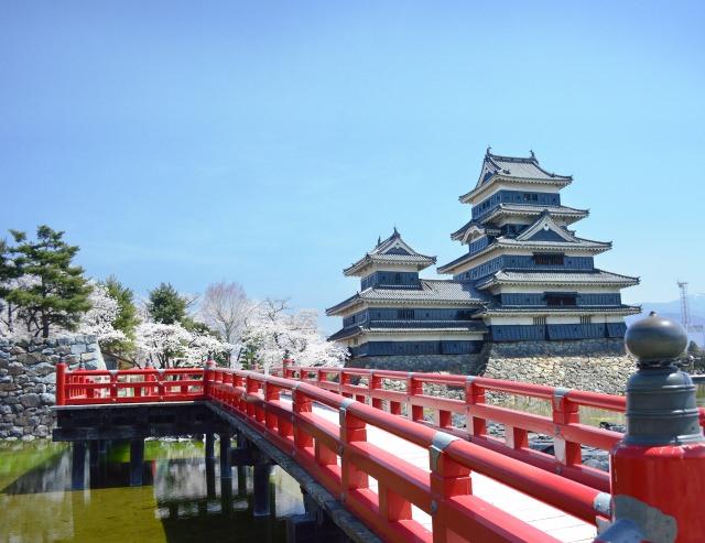 1. 保存著當時姿態的國寶「松本城」